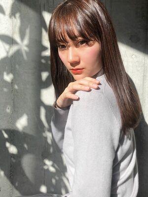 ナチュラルストレートAライン☆大人女性に人気☆
