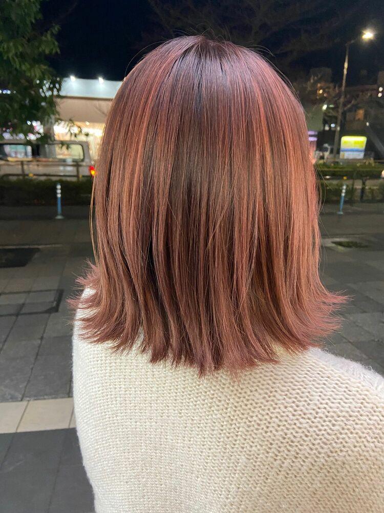 ピンクハイライト