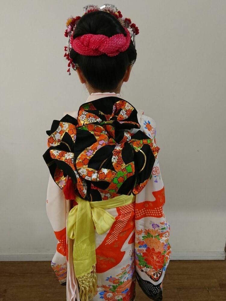七五三新日本髪の7歳のお姫様★