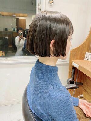 VIE石田康博 ボブが上手い ボブが得意な美容師