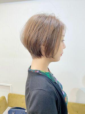 VIE石田康博 大人ショート ショートが得意 ショートが上手い美容師