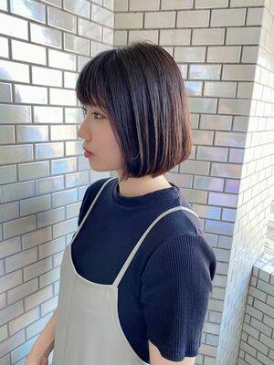 VIE石田康博 美髪 内巻きボブ