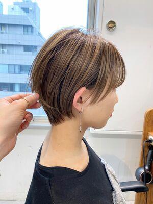 VIE 石田康博 大人可愛いショート 30代髪型 40代髪型