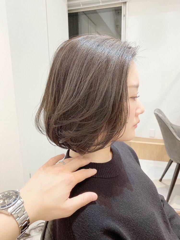 VIE石田康博 カットが上手い カットが得意 ボブが得意 ボブが上手い美容師