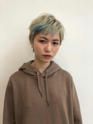 boy  原宿10分 ハイトーン デザインカラーケアブリーチ