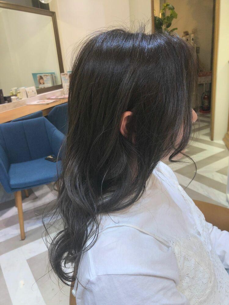 米倉和寿 グレージュカラー 柔らか透明感カラー