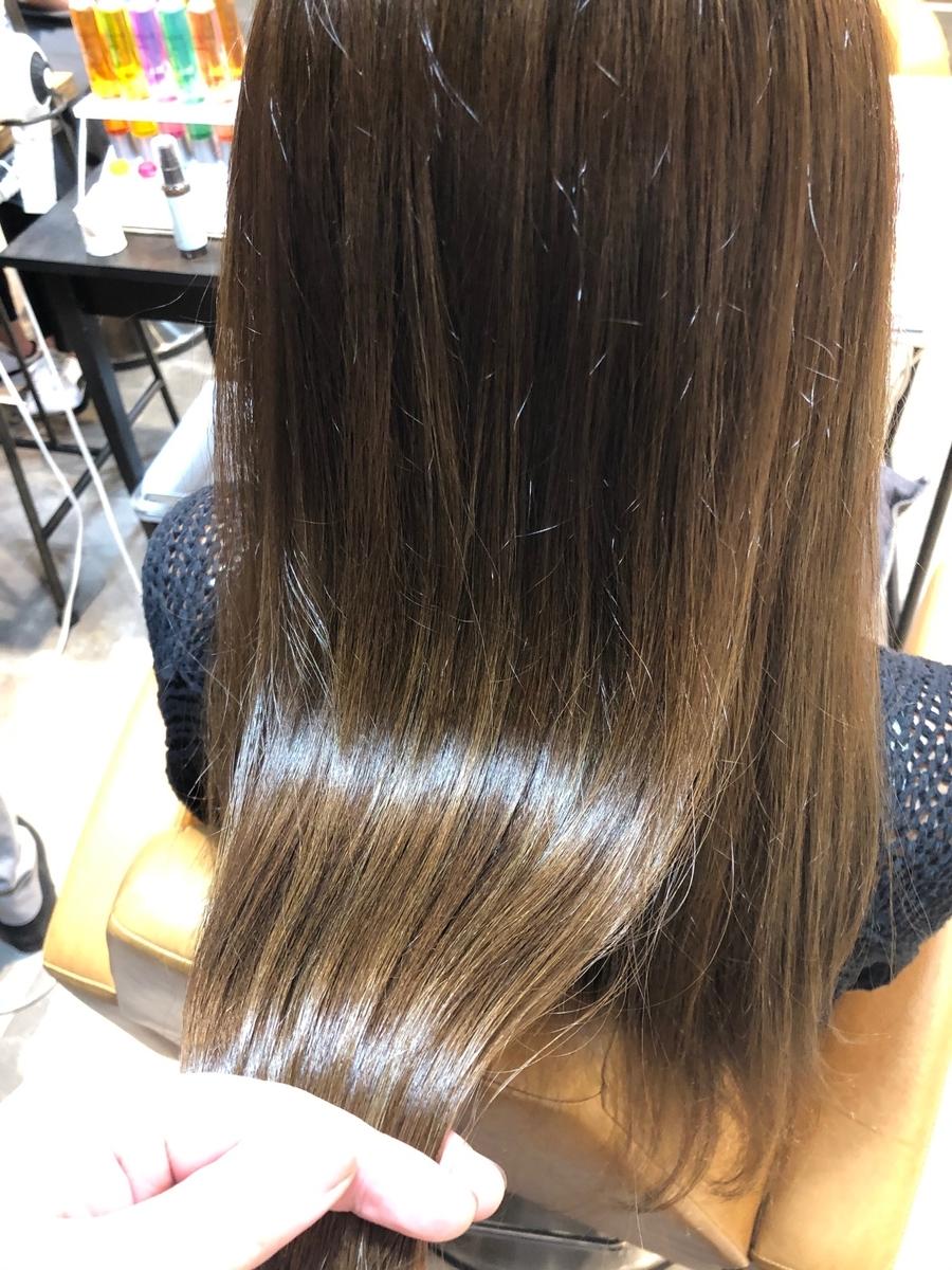 (米倉和寿)日本人特有の赤みを消す透明感カラー