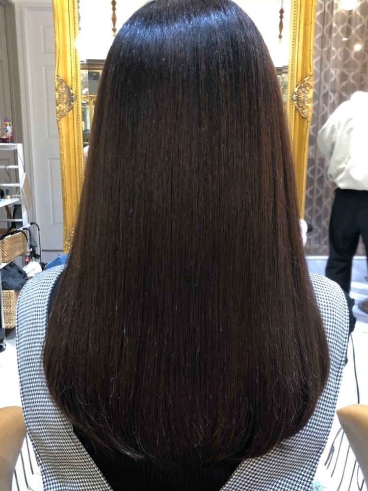 (米倉和寿)柔らか質感縮毛矯正 低ダメージだから安心できる