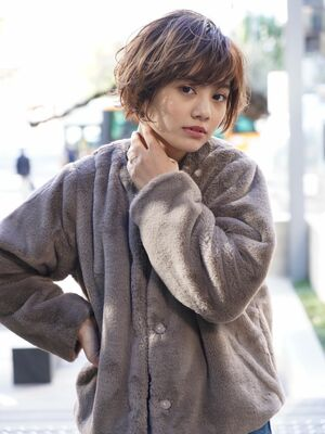 米倉和寿 かっこかわいい ショートスタイル