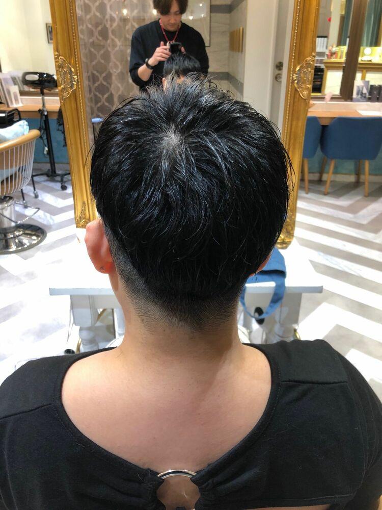 米倉和寿 ベリーショート 刈り上げスタイル