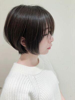 ZELE浦和西口 中畑×女性らしさを引き立てる☆襟足スッキリの丸みボブ