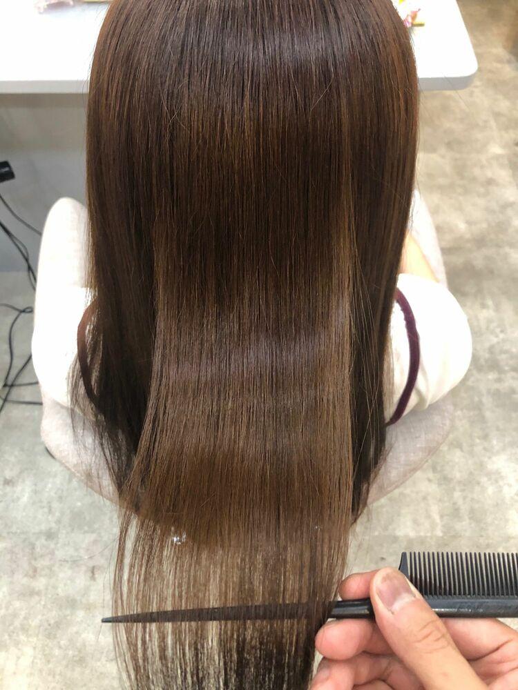 髪質改善、艶出しカラー♪