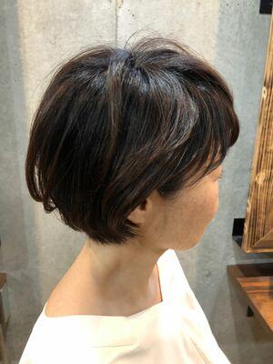 50代  大人ショートボブ東急東横線 学芸大学駅 徒歩2分「Tree hairsalon 」