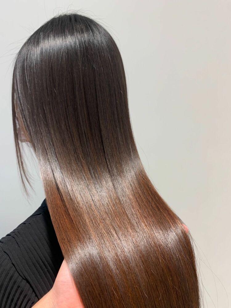 髪質改善 酸熱トリートメント ロング