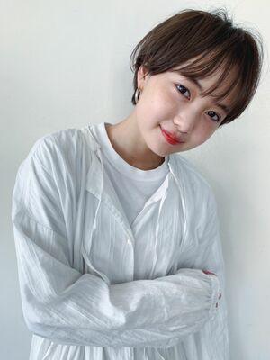 大人可愛い☆シースルーショート
