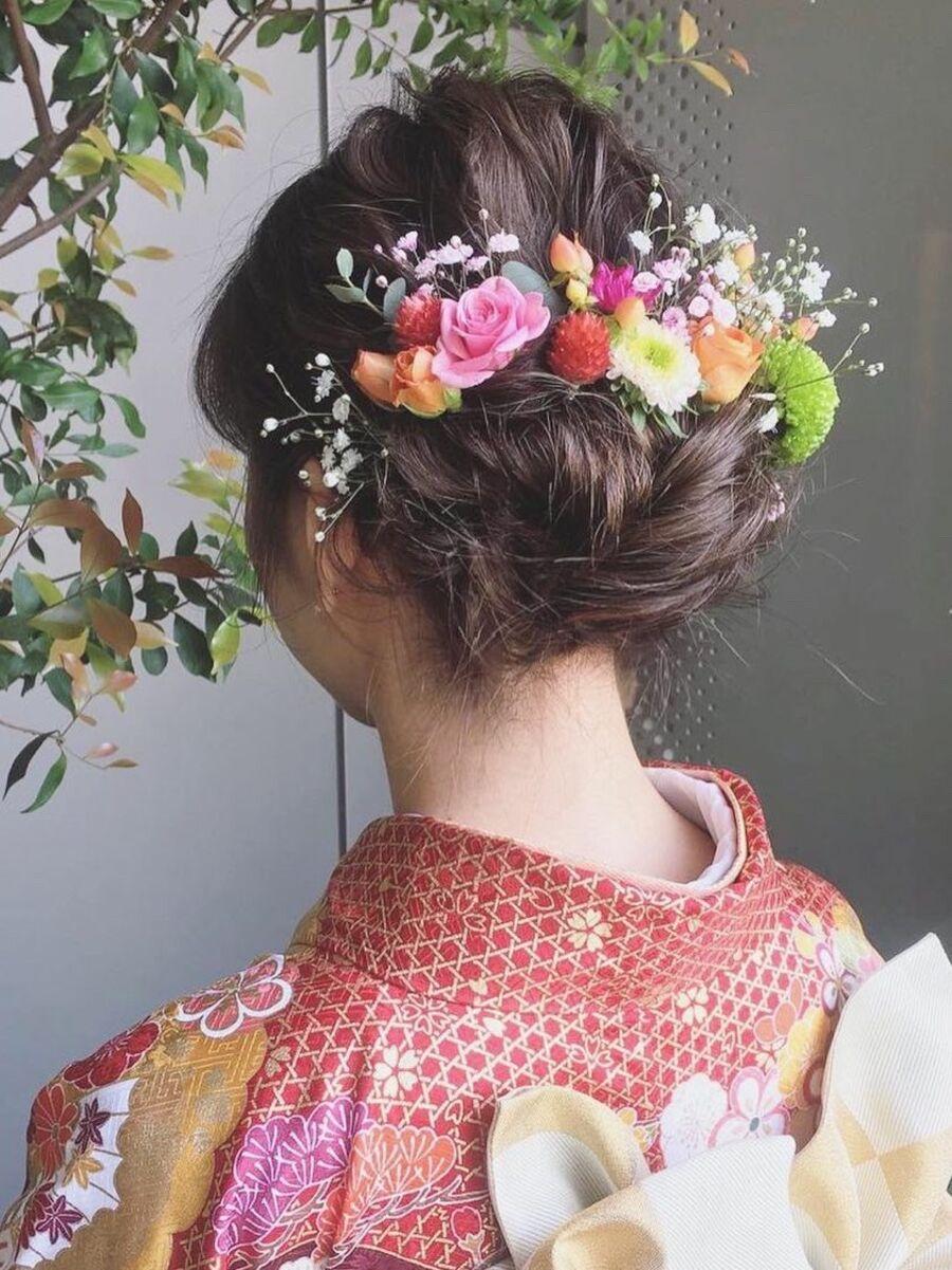 成人式アレンジヘア