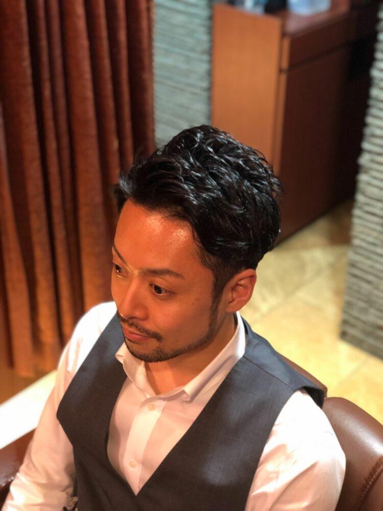 銀座メンズ30代ビジネスマンカットコース