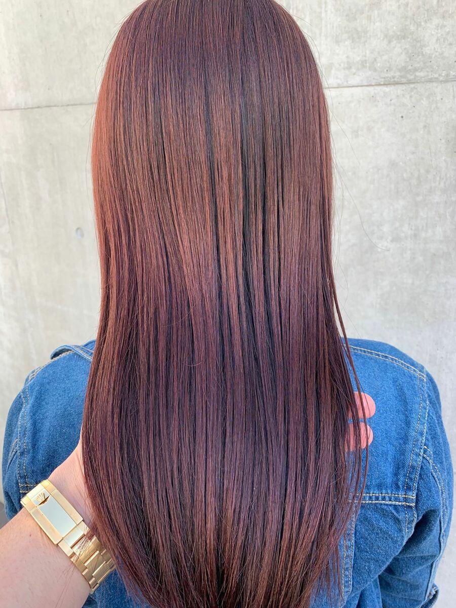 髪質改善サイエンスアクアとイルミナカラー
