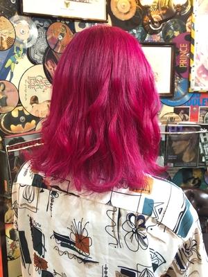 派手髪好きにオススメ!ピンク髪