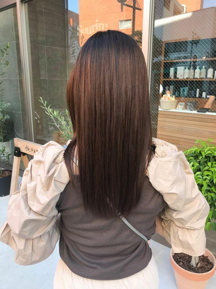 〈髪質改善〉さらさらストレート