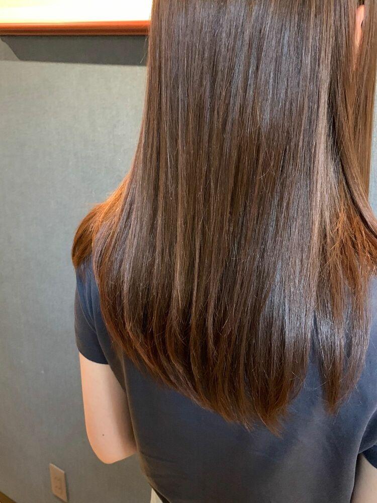 美髪トリートメントでサラツヤヘア