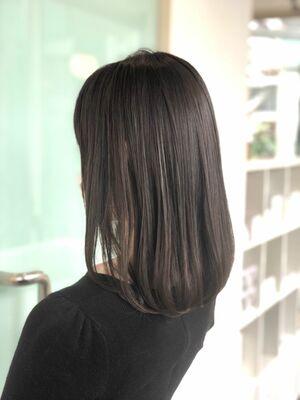 イルミナカラーで作る♪艶感、透明感の美髪ミディアム♪