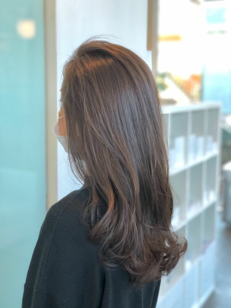 イルミナカラーで作る♪艶感、透明感の美髪ロング♪
