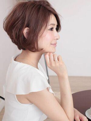 大人シルエット☆まとまりUP 色っぽヘア