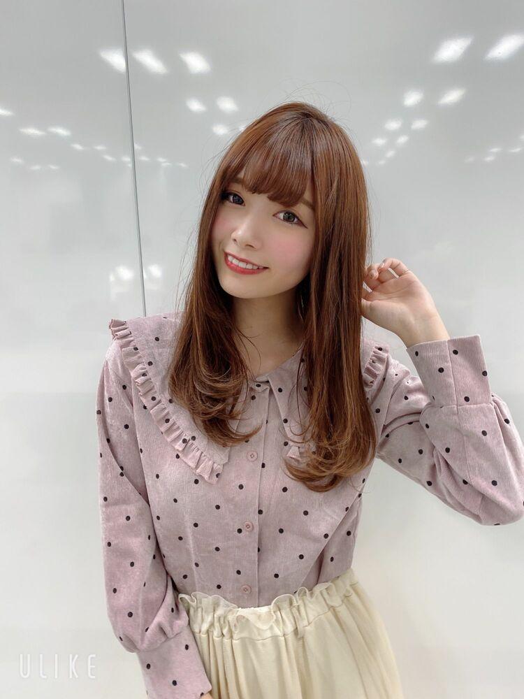 20代30代☆大人かわいい小顔ワンカール内巻きミディ♪担当 戸田
