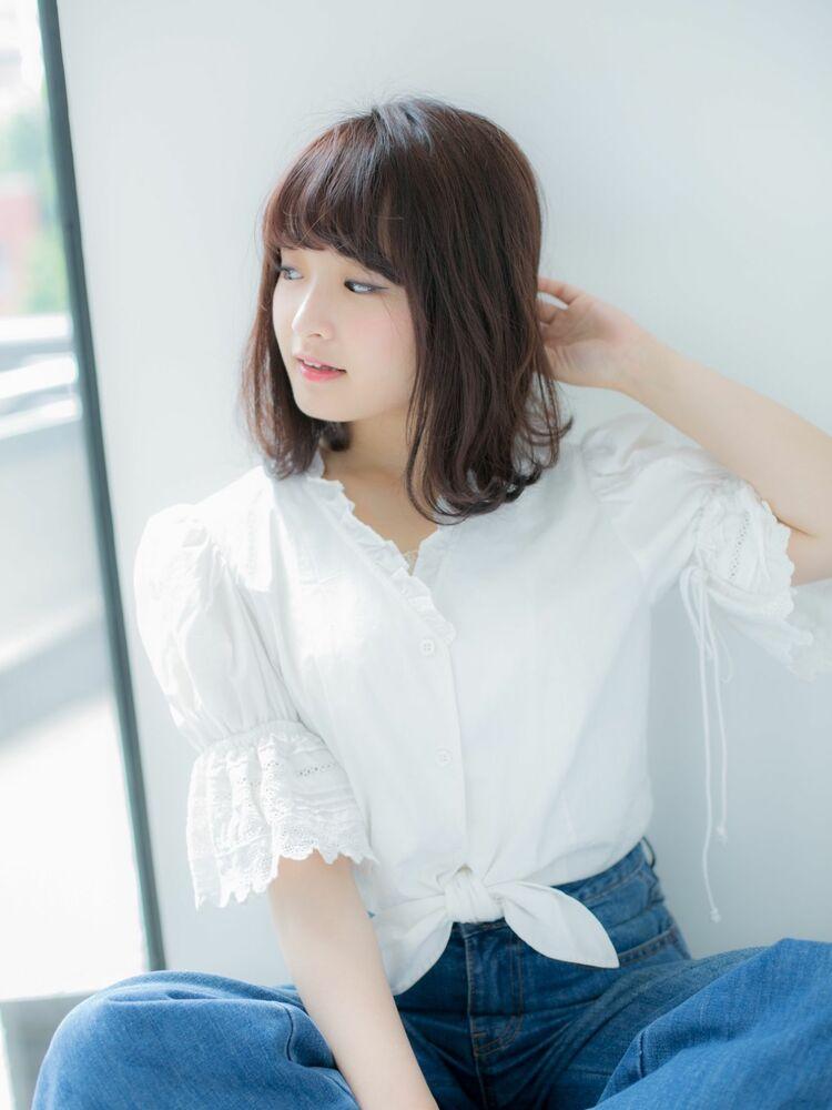 20代30代☆大人かわいい小顔外ハネワンカール♪担当 戸田