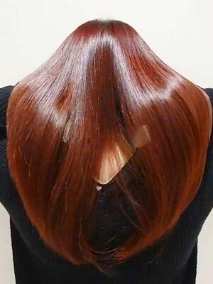 ツヤ髪/髪質改善/酸熱トリートメント