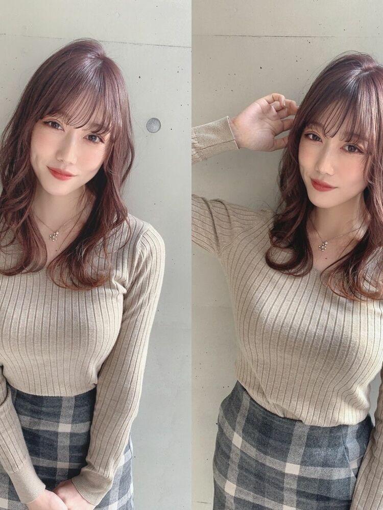 LOANA 飯塚 暖色カラー韓国人風カラー