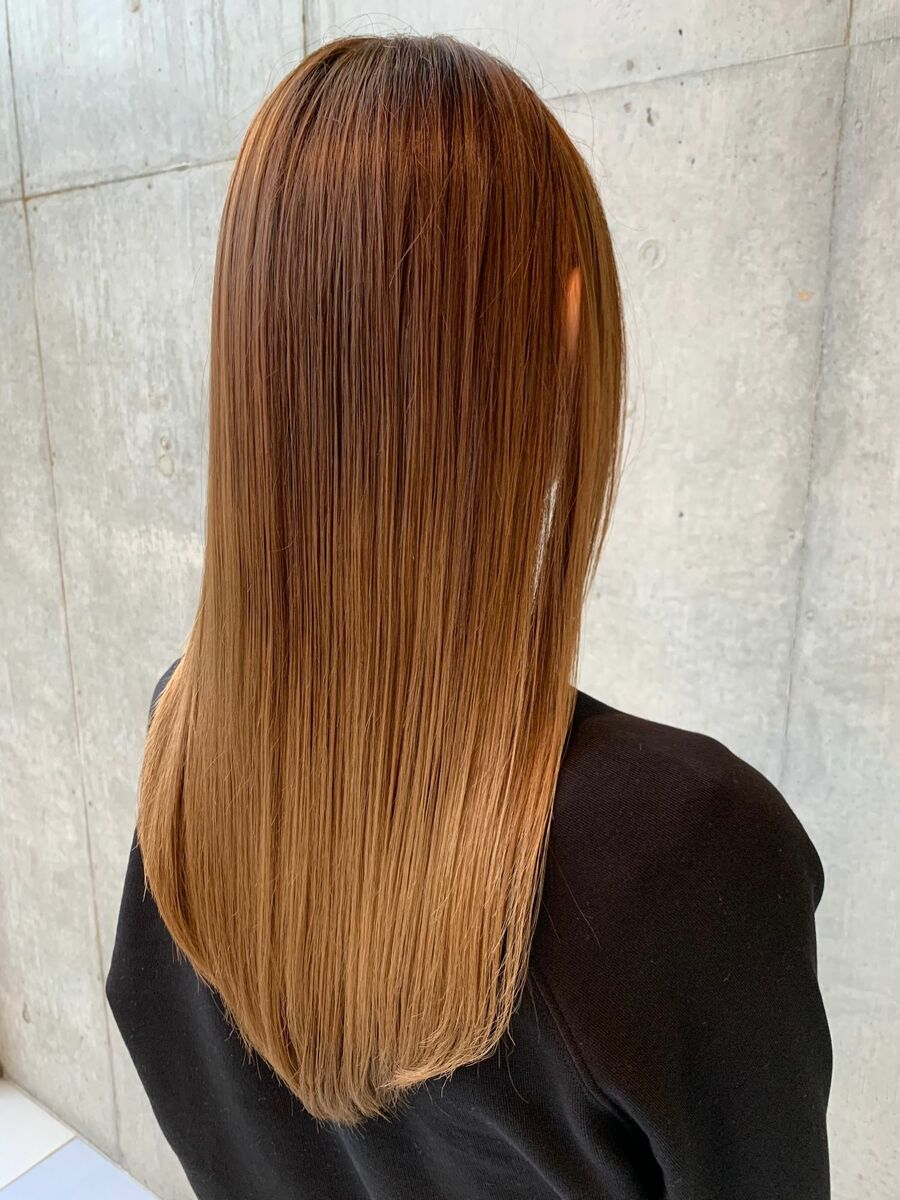 ブリーチしててもできる髪質改善