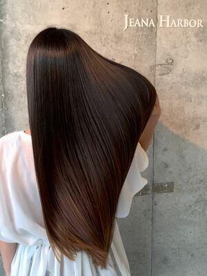 カラーと同時にできる髪質改善
