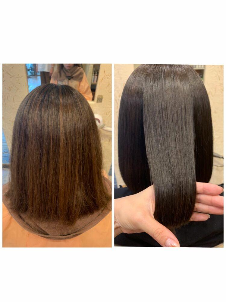 髪質改善!大人気のナナナナトリートメント