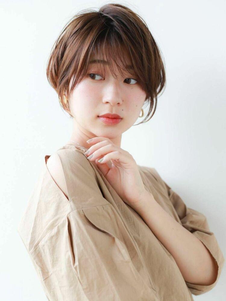 K-two岸 ひし形ショートカットで小顔を叶える 「渋谷渋谷駅/ボブカット&ショートカット」