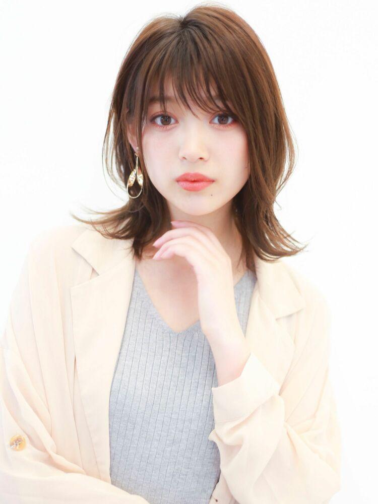 STAR TOKYO 岸 ひし形ボブカットの小顔カット「渋谷美容室/ボブカット&ショートカット」
