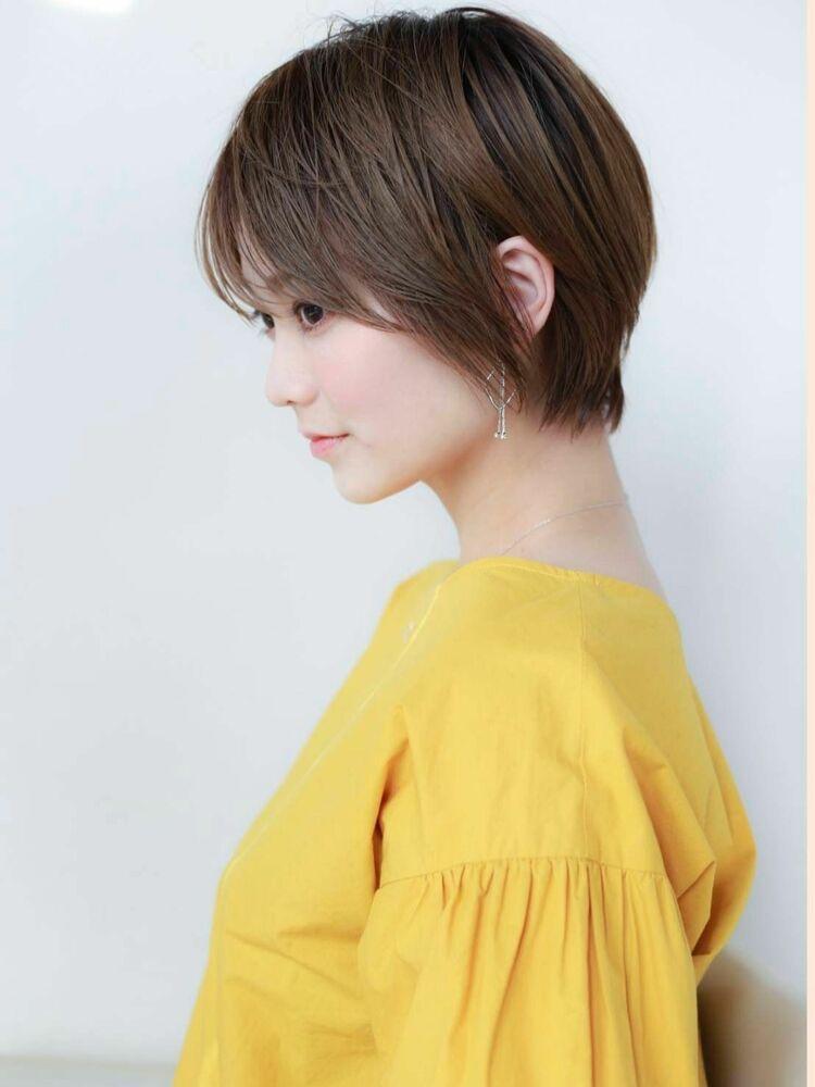STAR TOKYO岸360度美しいショートカットの小顔カット「渋谷渋谷駅/ボブカット」
