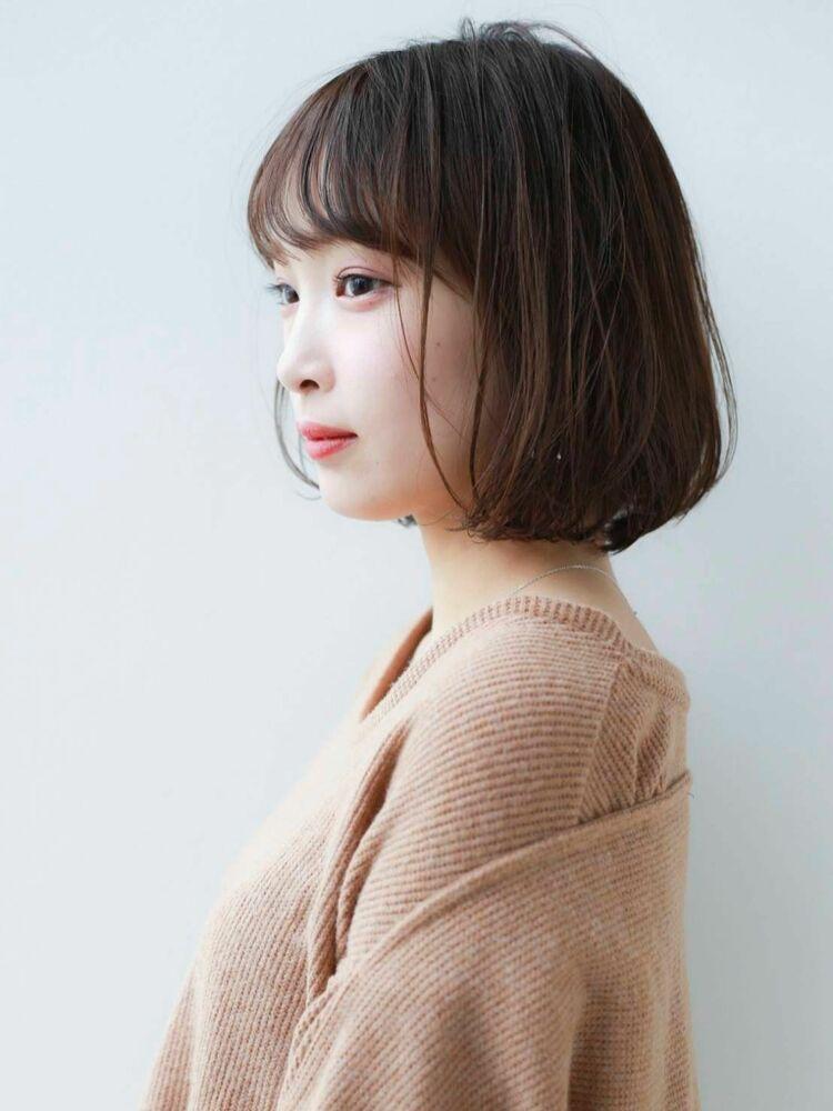 K-two青山店岸 フェミニンボブで小顔♪ 「表参道渋谷/ボブ&ショートカット」