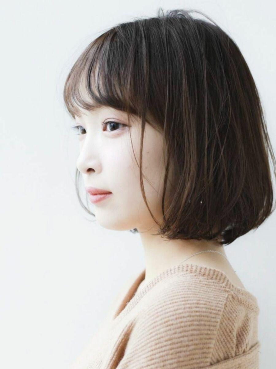 K-two青山店岸 フェミニンボブで小顔を叶える 「表参道渋谷/ボブ&ショートカット」