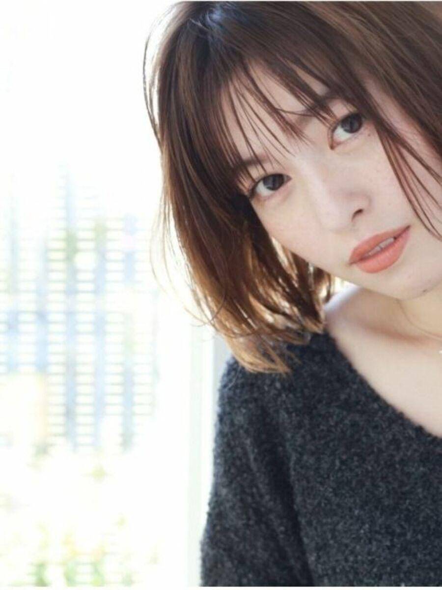 K-two青山店 切りっぱなし×シースルーバング 「表参道渋谷/ボブ&ショートカット」