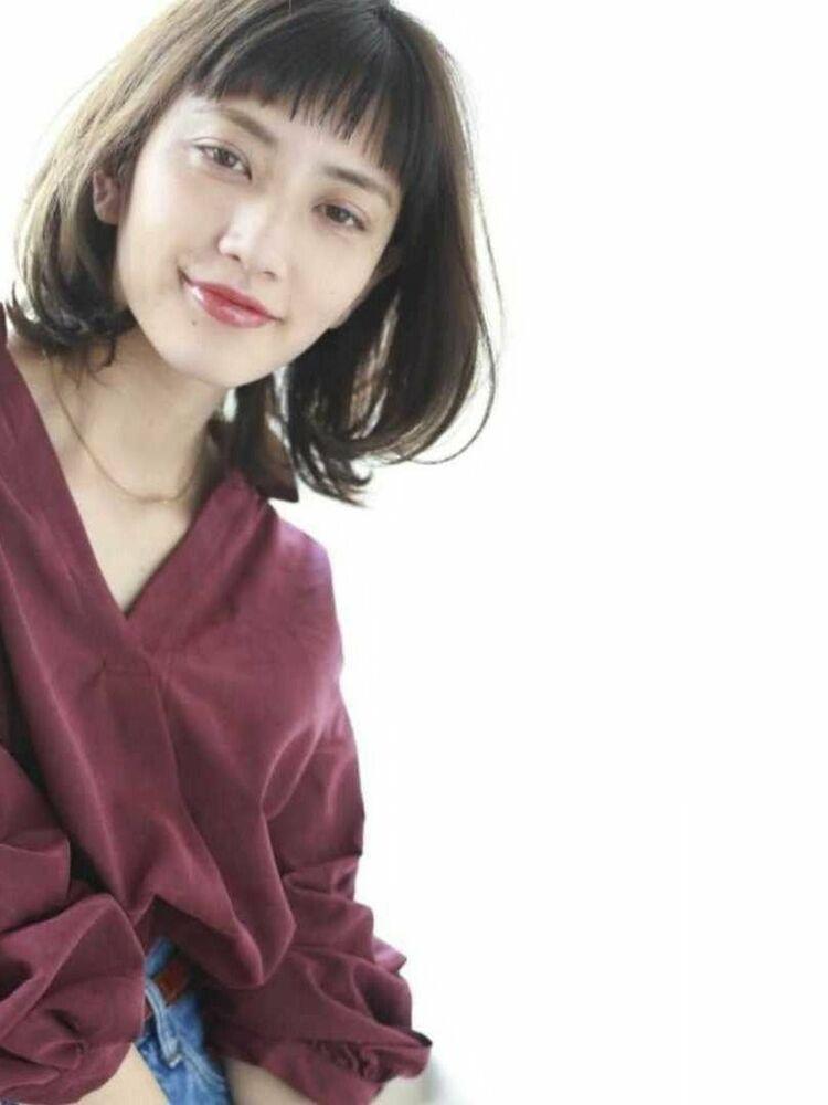 K-two青山店岸 ひし形くびれボブ 「表参道渋谷/ボブ&ショートカット」