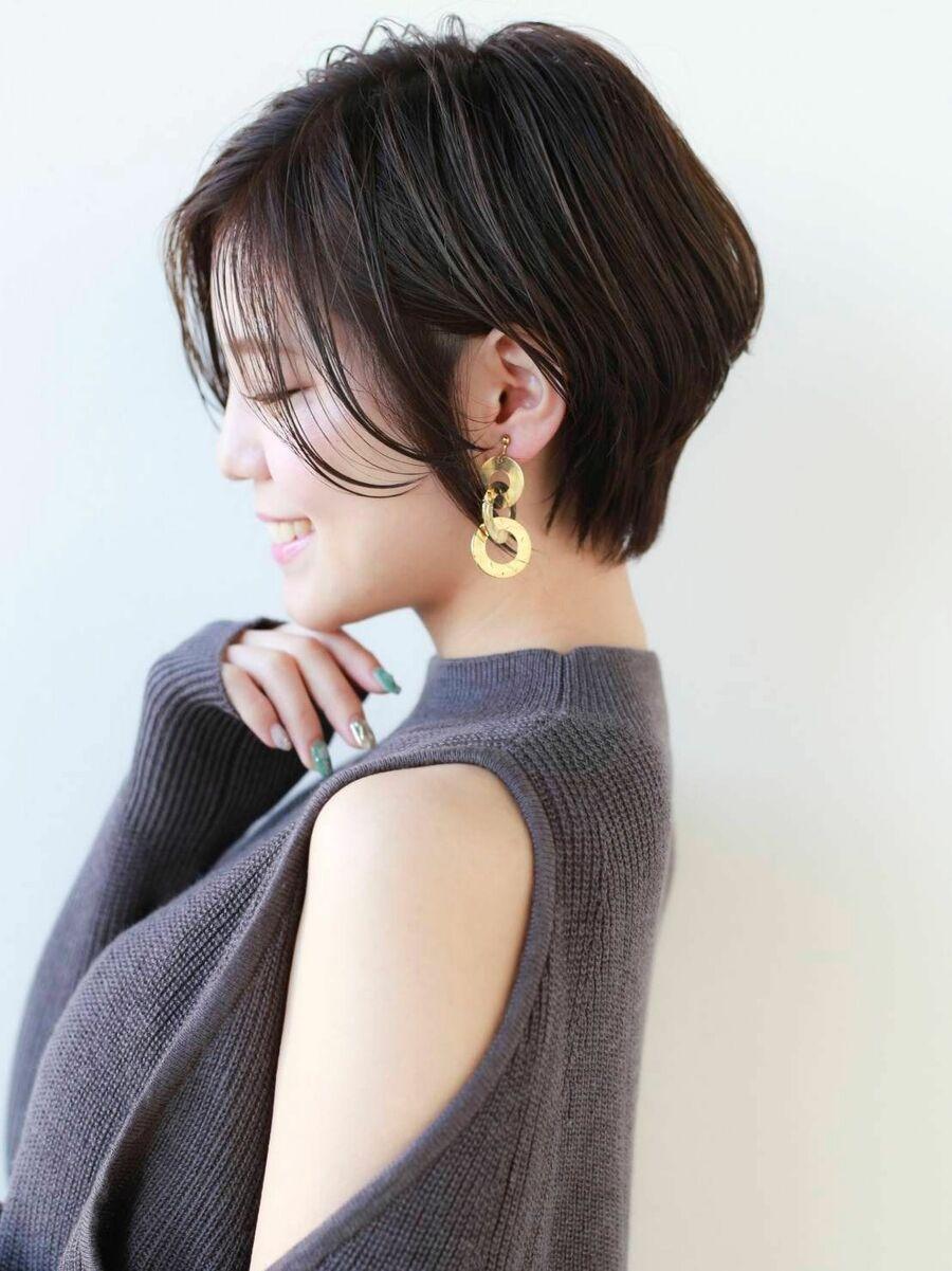 STAR TOKYO横顔も美しいショートカットの小顔カット「渋谷渋谷駅/ボブカット&ショートカット」