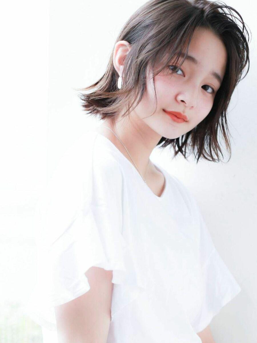 STAR TOKYO岸 顔型診断のボブカットで小顔カット 「渋谷渋谷駅/ボブカット&ショートカット」