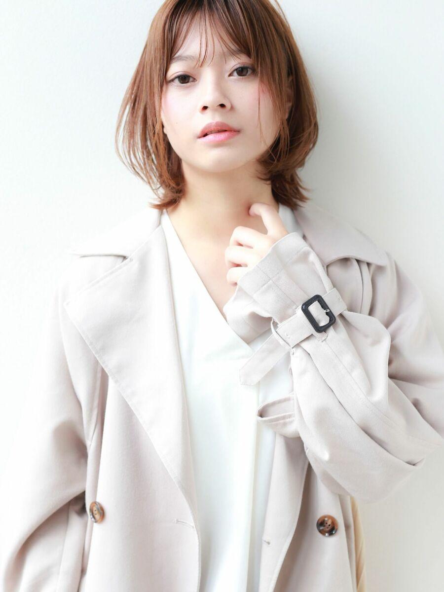 STAR TOKYO岸 ひし形ボブカットの小顔カット「渋谷渋谷駅/ボブカット&ショートカット」
