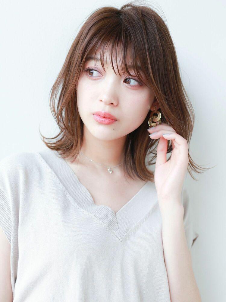STAR TOKYO岸 ひし形ボブカットの小顔カット「渋谷美容室/ボブカット&ショートカット」