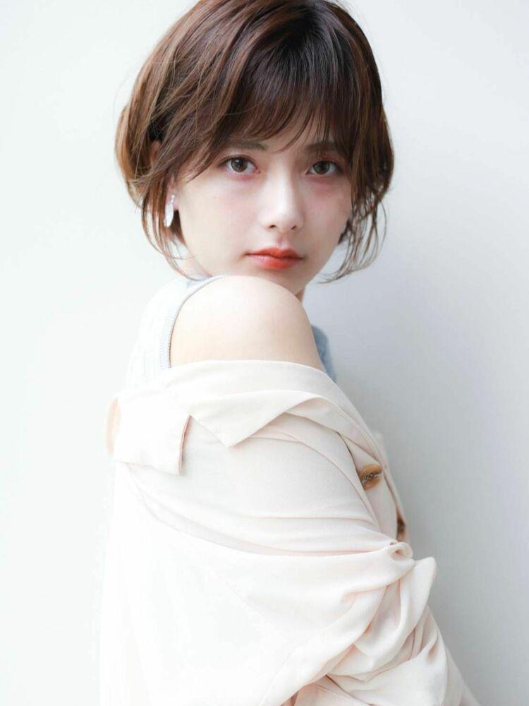 K-two青山店岸 ひし形ショートカット 「表参道渋谷/ボブ&ショートカット」