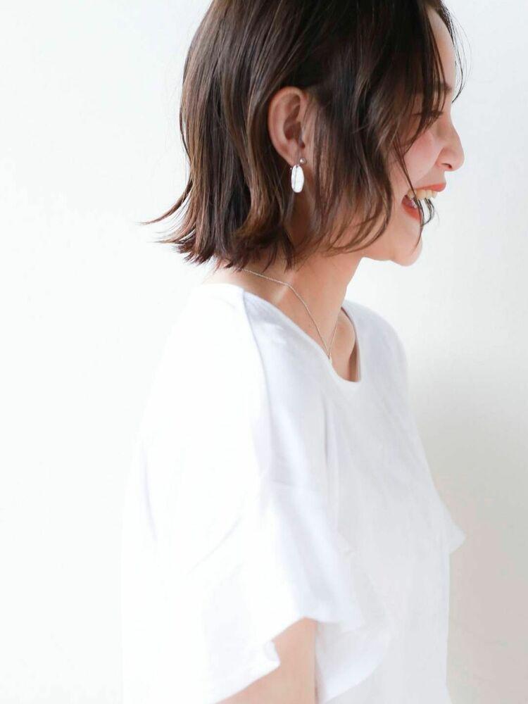 STAR TOKYO岸 ゆるふわボブカットの小顔カット「渋谷渋谷駅/ボブカット&ショートカット」