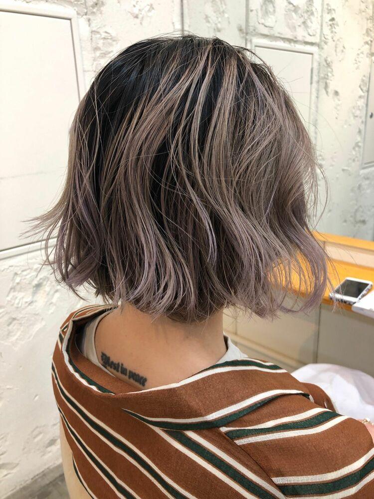 gradation violet