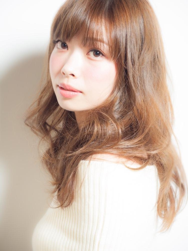 LIBERTY-H勝どき店蛯名祥美☆シンプルふんわりヘア